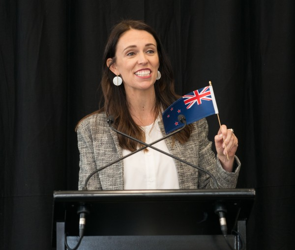 Text Box: Figure 1  New Zealand`s Prime Minister